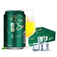 SNOWBEER 雪花 晶粹啤酒 (330ml、24、2.5度、听装、低浓度)