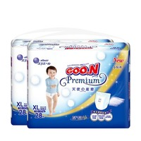88VIP:GOO.N 大王 天使系列 婴儿拉拉裤 XL号 28片 2包 *2件