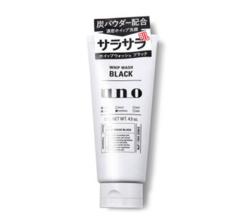 9号0点:SHISEIDO 资生堂 UNO 吾诺 男士洗面奶 黑色控油祛痘款 130g *10件
