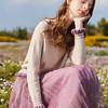 秋水伊人 女装针织纱裙法国小众连衣裙两件套 359元(需用券)