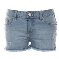 H:CONNECT 女士复古做旧牛仔短裤 *2件