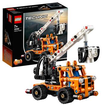 LEGO 乐高汽车系列 42088 拼插积木车载式吊车 小颗粒