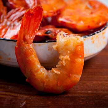南泓村 油焖大虾真空包装 烧烤味 200g
