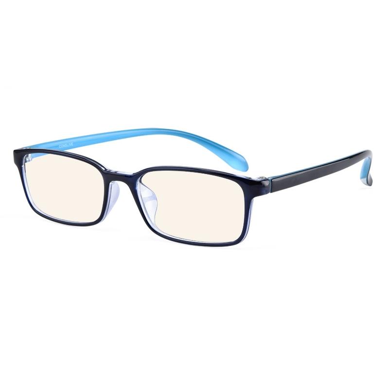 康视顿 2356 亮黑色镜框+1.60防蓝光镜片