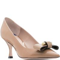 Stuart Weitzman 斯图尔特 优雅下午茶系列低跟女鞋