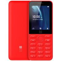 QIN 多亲 QF9 AI功能电话老人手机双卡双待 (红色)