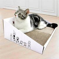DEKU 得酷 彩盒猫抓板 450*300*150*50mm