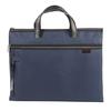 信发(TRNFA)TN-4005蓝色 文件袋/手提帆布公文包 办公收纳用品/双层拉链袋/资料笔插会议培训包 *3件 14.85元(合4.95元/件)
