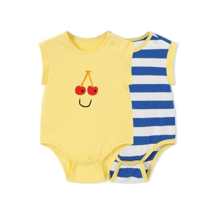 Balabala 巴拉巴拉 婴儿薄款哈衣 2件装