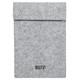 TRNFA 信发 MZ-172 毛毡文件袋/ipad保护袋 A4 灰色 *3件