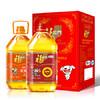 福临门 食用油 花生油+营养家调和油定制套装3.09L*2 *2件 193.5元(合96.75元/件)