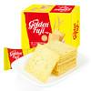 金富士 咸蒜香味薄脆饼干 酥脆薯片薄饼 休闲膨化零食品 独立小包装盒装240g *16件 84.8元(合5.3元/件)