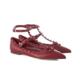 VALENTINO Garavani Rockstud Ballerina Flats 女士铆钉平底鞋 4035元包邮包税