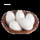 对面小城 散养大鹅蛋 单枚约100-120g 6枚装 *2件
