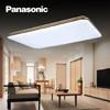 松下(Panasonic)吸顶灯LED遥控调光调色简约时尚客厅卧室吸顶灯长方灯 三室两厅一阳台 *2件 3526.2元(合1763.1元/件)
