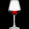 红酒杯套装家用6只装创意水晶杯葡萄酒杯高脚杯醒酒器杯架2个一对 8.9元(需用券)