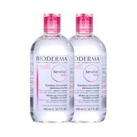 88VIP:BIODERMA 贝德玛 舒妍温和保湿卸妆水 500ml *2