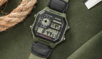 正品卡西欧casio手表AE-1200WH-1B户外运动防水男士电子手表
