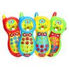 婴儿玩具音乐手敲琴儿童益智男孩女孩0-1-2岁 宝宝新年礼物 音乐手机 4色(颜色随机发货) 15元(需用券)