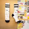 STANCE女袜印花图案时尚搭配休闲加厚潮袜舒适556系列中筒袜子 67元