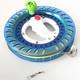 百特 风筝线轮 折叠小摇把蓝轮+200米2股轮胎线 10.8元(需用券)