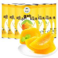 卡比兽 糖水黄桃罐头 (箱装、425g)