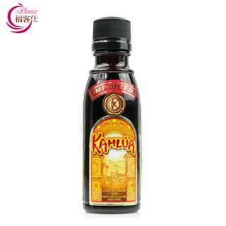 Kahlua 甘露 咖啡力娇酒 提拉米苏 烘焙原料 (咖啡味、20%、50ml)