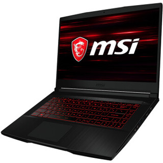 msi 微星 GF63 15.6英寸游戏本(i5-9300H、8GB、512GB、GTX1650 Max-Q 4G)