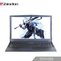 Shinelon 炫龙 T50-C 15.6英寸游戏笔记本电脑 (黑色、i7-8750h、256GB SSD+1TB、8GB、GTX1050 )