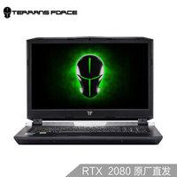 TERRANS FORCE 未来人类 X 系列 X711-2080-99T 17.3英寸游戏笔记本电脑 (黑色、i9-9900K、1T、32GB、RTX2080)