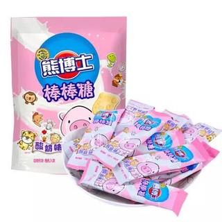 徐福记 熊博士 棒棒糖 酸奶味 分享装160g *2件
