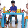 禧天龙塑料儿童桌家用加厚宝宝学习桌幼儿园积木桌书桌玩具桌子 179元(需用券)