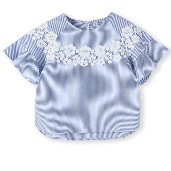 Balabala 巴拉巴拉 女童衬衫衬衣纯棉
