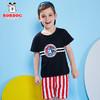 Bobdog 巴布豆 夏季儿童短袖套装潮 39元(需用券)