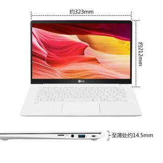 LG gram 14Z990-V.AA53C 14英寸笔记本电脑(i5-8265U、8GB、256GB、雷电3)