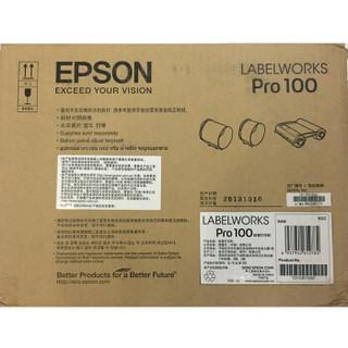 EPSON 爱普生 Pro100 色带标签打印机