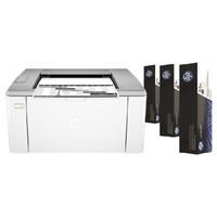 HP 惠普 LaserJet pro M106w 黑白激光打印机
