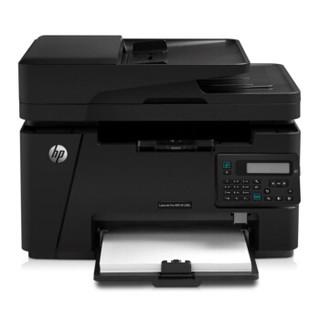 HP 惠普 LaserJet Pro MFP M128fn 黑白激光一体机