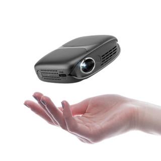 瑞格尔(Rigal)RD-631定制版 智能便携投影仪 手机投影机家用迷你(高清影院 无线同屏 梯形矫正 内置电池)