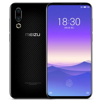 MEIZU 魅族 16s 智能手机 6GB+128GB 全网通 碳纤黑