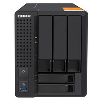 QNAP 威联通 TS-532X-2G 五盘位 NAS网络存储+ 西部数据 12TB(4TB*3)3.5英寸机械硬盘套装