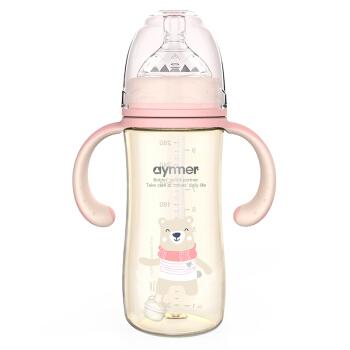 aynmer 爱因美 9261 宽口径PPSU奶瓶 280ml