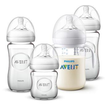 AVENT 新安怡 宽口径奶瓶套装 200-299ml