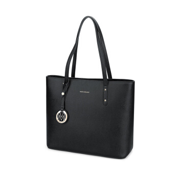 Mexican 稻草人 女 简约大容量通勤包单肩包 托特包 MLBD01181421 黑色