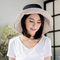 日本UV CUT 大帽檐渔夫帽