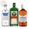野格利口酒+绝对伏特加原味+百龄坛特醇 218元