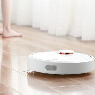 MI 小米 米家扫地机器人1S (白色)