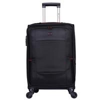 威豹(WINPARD)拉杆旅行箱男女行李箱 28英寸万向轮旅行箱托运箱 98019黑色