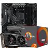 华擎(ASRock)[显卡3A优惠套装]华擎RX580 2048SP 4G+华擎X470 Master SLI主板+AMD 锐龙 7 2700 处理器 3620元
