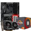 华擎(ASRock)[显卡3A优惠套装]华擎RX580 8G OC+华擎X470 Master SLI主板+AMD 锐龙 7 2700X 处理器 4180元